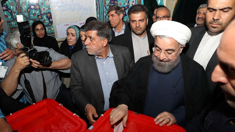 Iranian President Hassan Ruhani Wins second Term