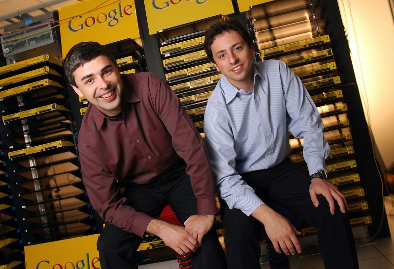 Famous entrepreneur: Larry Page & Sergey Brin