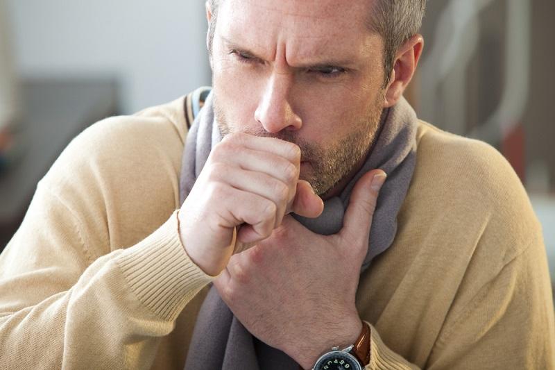 cancer symptom: persistent cough