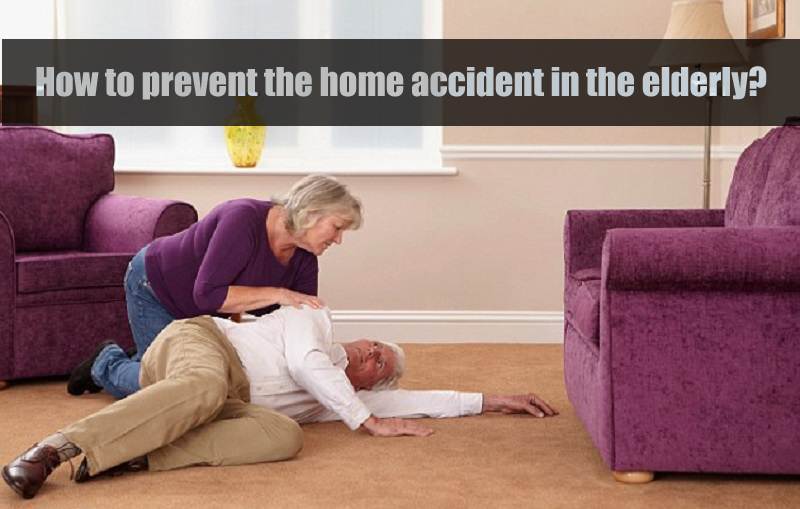 Home accident in the elderly