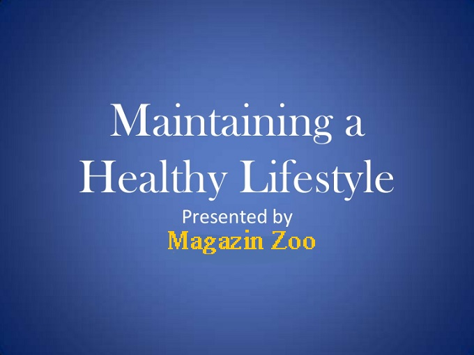 Maintaining a healthy lifestyle | Effective and Useful Tips