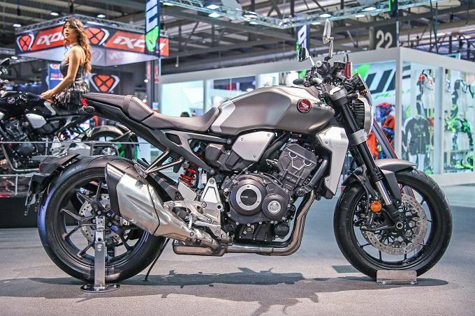 Retro and super naked bike