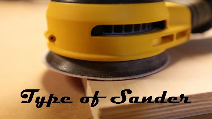 type of sander