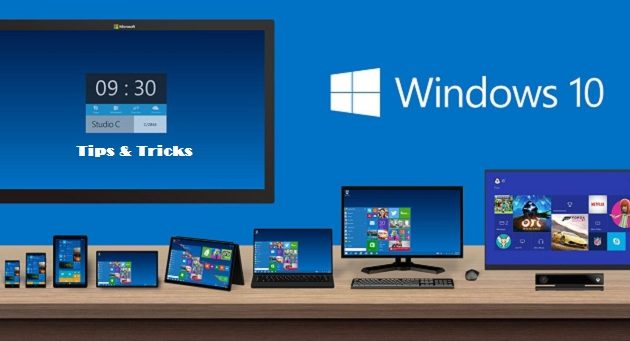 Tips and tricks of Windows 10 pro 32/64 bit that you have to know