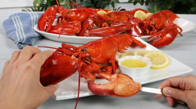How to eat lobster without losing the charm
