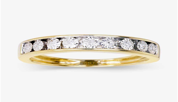 What does an eternity ring mean?