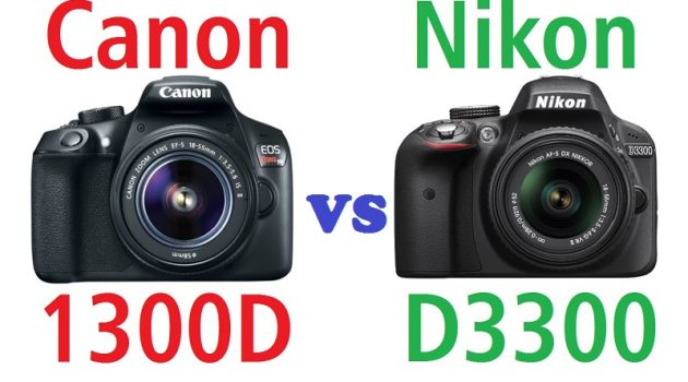 Nikon D3300 vs Canon 1300D: which model to choose?