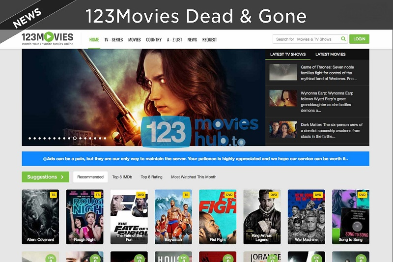 123movies dead and gone