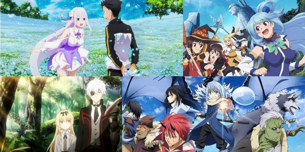 top isekai animes